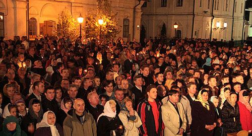 Блаженніший Володимир, Митрополит Київський і всієї України - під час Всенощної Служби