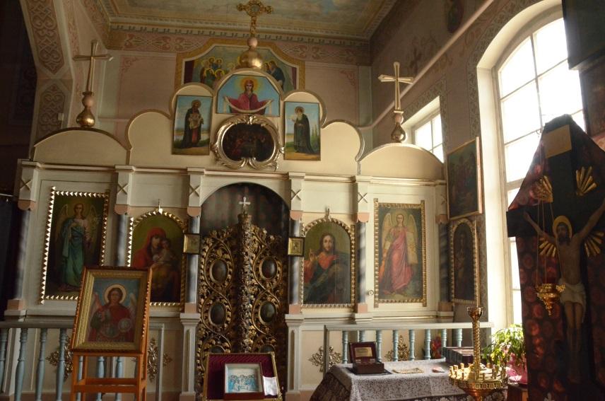 Храм на честь святого Архістратига Михаїла
