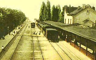 Залізнична станція Боярка (фото початку XX ст.)