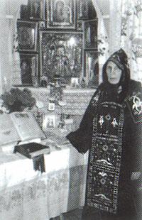 Схимонахиня Таисия
