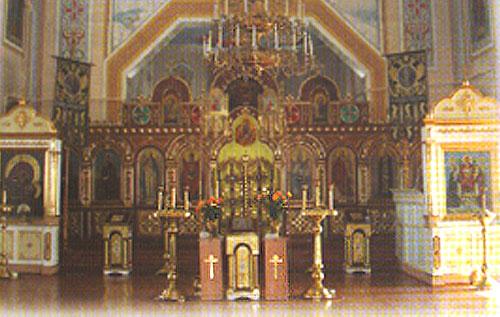 Внутренне убранство Храма Архистратига Божия Михаила