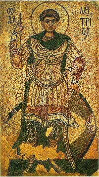 Поборник віри Христової. 8 листопада — день пам'яті Великомученика Димитрія Солунського