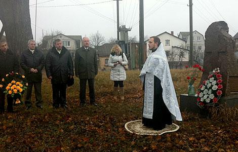 14 декабря у памятного знака жертвам ЧАЕС состоялась панихида по почившим ликвидаторам