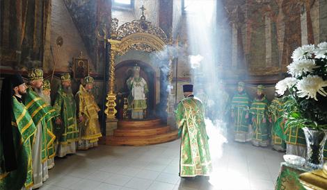 Проповідь Святішого Патріарха Кирила в день Святої Трійці