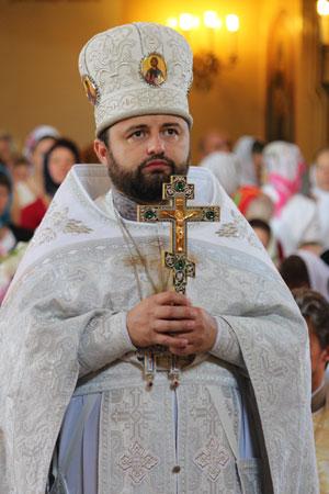 Різдвяне привітання благочинного Києво-Святошинського округу протоієрея Василія Русінки