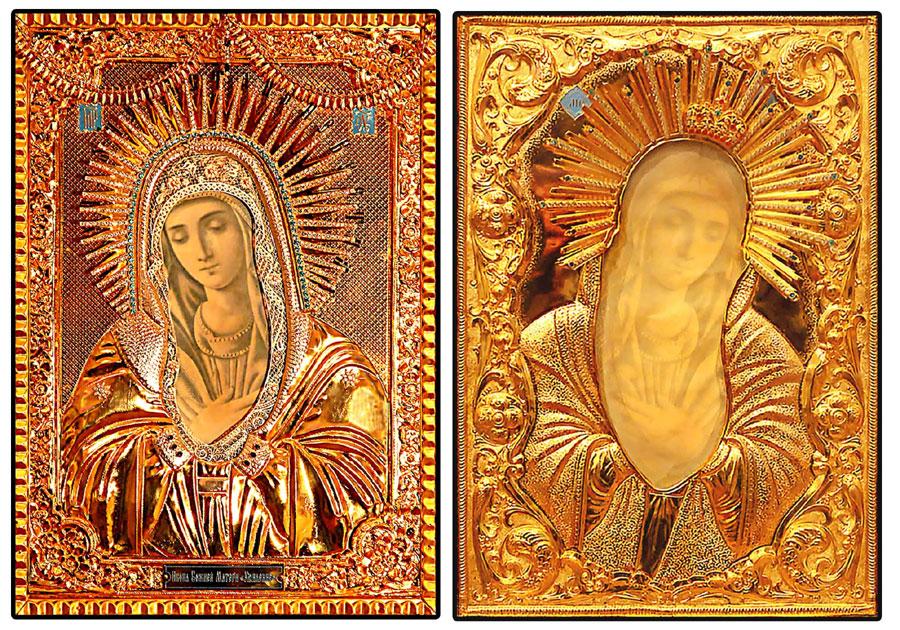 Чудотворный мироточивый Образ Божьей Матери «Умиление»