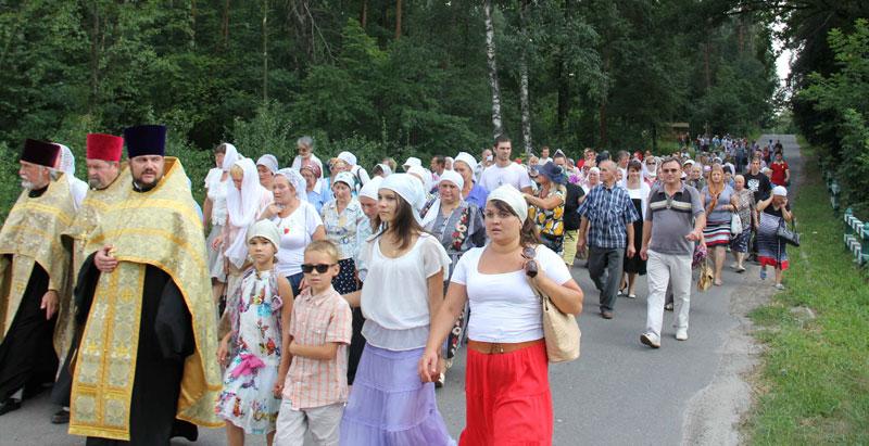 Православна Боярка відзначила 1025-річчя Хрещення Русі Хресною ходою