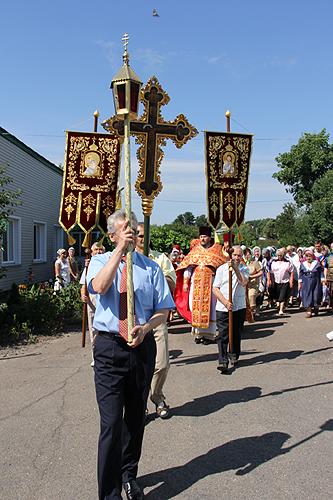 Престольный праздник Свято-Михайловского храма