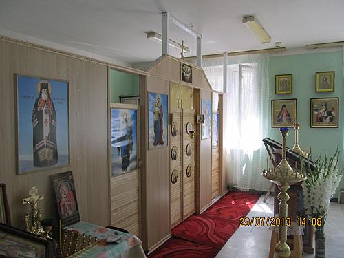 Храм Святителя Луки Кримського при Київській обласній дитячій лікарні