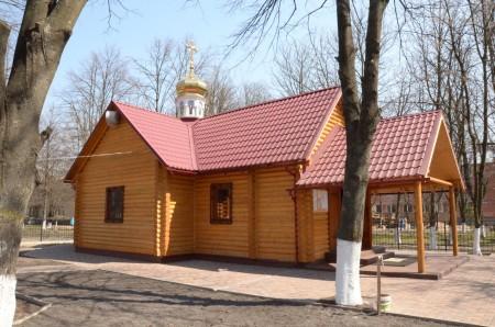 Храм на честь на честь Святого Цілителя Пантелеімона