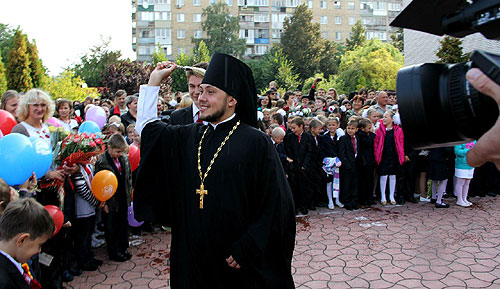 Києво-Святошинська класична гімназія: благословіння на початок навчального року