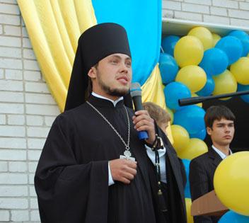 Ієромонах Флавіан (Гоженко), викладач Києво-Святошинської районної класичної гімназіі