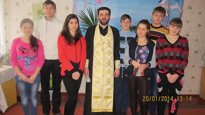 Святки в парафії Св. Луки Кримського