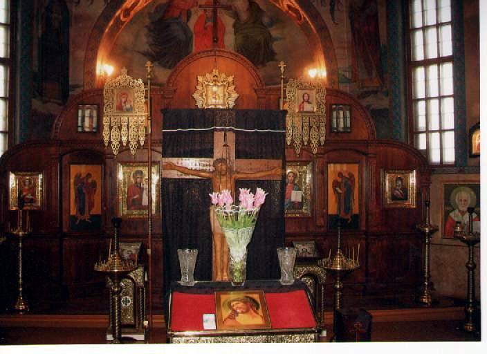 Храм на честь Різдва Пресвятої Богородиці.