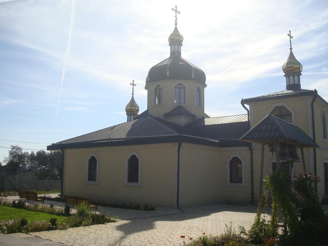 Храм на честь святого великомученика Димитрія Солунського 2