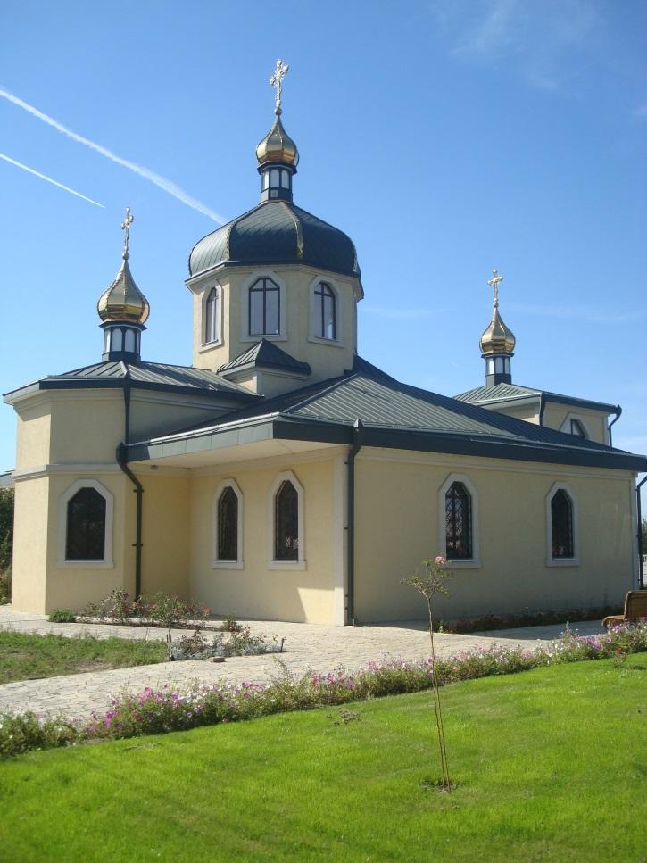 Храм на честь святого великомученика Димитрія Солунського